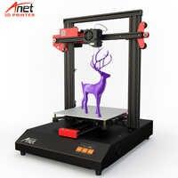 Новый обновленный Anet ET4 все металлические интегрированные 3d принтер с A4988/TMC2208 Шаг Драйвер Impressora 3D низкий Loisy принтер