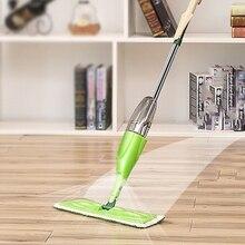 Magie Spray Mopp Holzboden mit Wiederverwendbare Pads 360 Grad Hause Griff Windows Küche Mopp Kehrmaschine Besen Saubere Werkzeuge