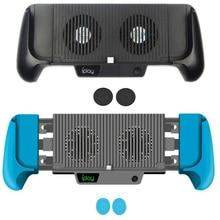 Support de charge à poignée support de refroidissement refroidisseur ventilateur support de chargeur pour Nintendo Switch et commutateur ntint Lite Mini batterie intégrée