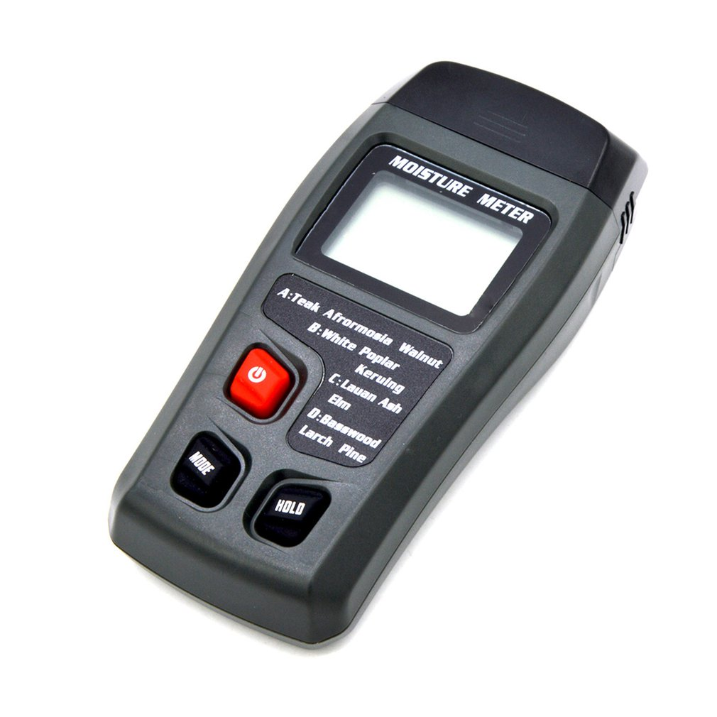 Новый цифровой ЖК дисплей измеритель влажности древесины +/ 0.5% точность 2 Pin измеритель влажности Портативный тестер/детектор влажности сен... - 2