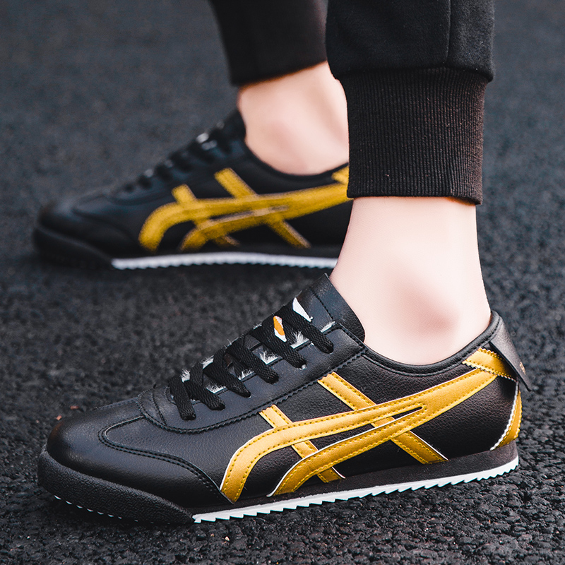 High Quality New Casual Men's Sports Shoes Agan Shoes Ladies Sports Shoes Breathable Comfortable Running Shoes Tiger Shoes