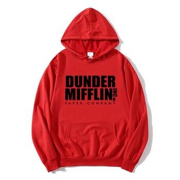 2021 new The Office Sweatshirt Men/Woemn Fleece Hoodies Dunder Mifflin Paper Inc Hoodie Unisex Crewneck Moletom Feminino Hoody 2