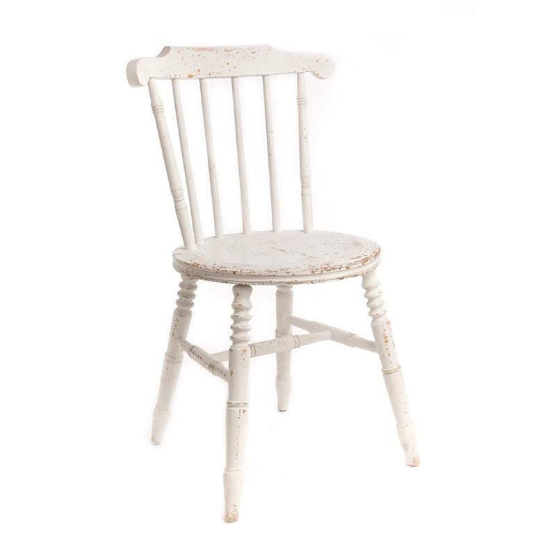 Modern Minimalist Nordic Windsor Chair Wrought Iron Coffee  Dining  Shooting Back Single
