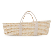 Corn fur woven portable baby hand basket cradle sleeping basket newborn crib baby sleeping basket naked basket