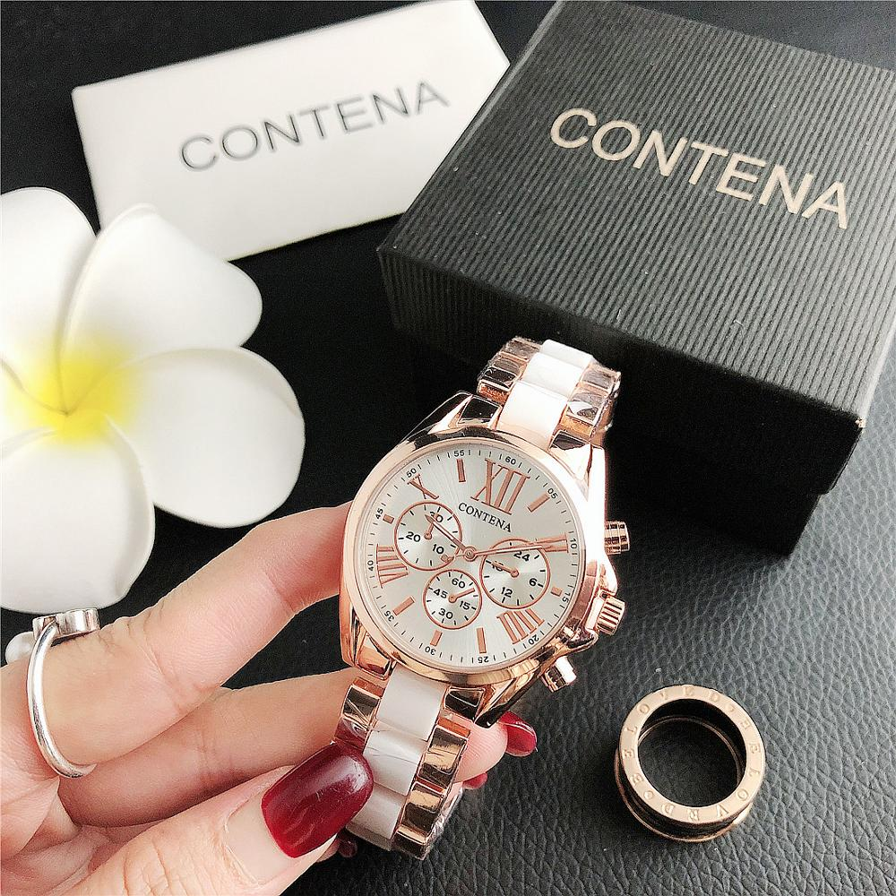 High Quality Elegant Ladies Watch Fashion Ultra-thin Women's Watches Analog Quartz Wrist Wrist Watch Stainless Steel Strap Clock