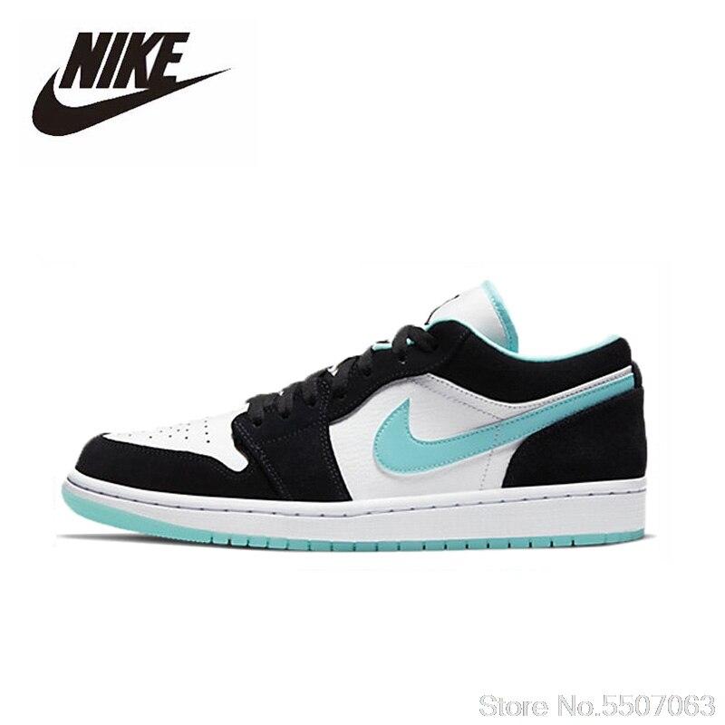 Unisex originale Nike Air Jordan 1 Scarpe Basse Da Uomo Confortevole Leggero AJ1 Donne Scarpe Da Basket scarpe Da Tennis di Sport CQ9828-131