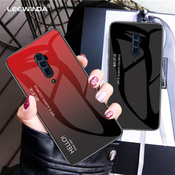 На Алиэкспресс купить стекло для смартфона for oppo reno 2 z a z ace 3 pro phone case luxury gradient tempered glass case for oppo reno 10x zoom all full anti-fall cover