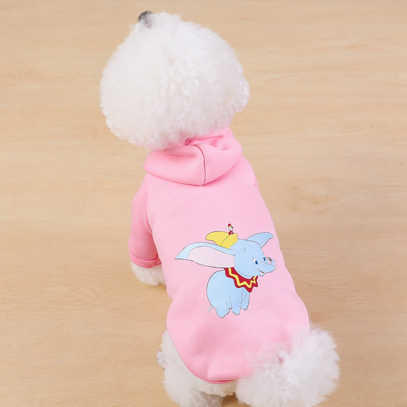 Cartoon <font><b>Dog</b></font> Hoodie Winter <font><b>Pet</b></font> <font><b>Dog</b></font> Clothes for <font><b>Dogs</b></font> Coat Jacket Cotton Ropa Perro Teddy Bulldog <font><b>Clothing</b></font> for <font><b>Dogs</b></font> <font><b>Pets</b></font> <font><b>Clothing</b></font> image