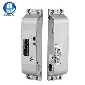 Image 2 - DC12V Fail Safe Nc Elektrische Drop Bolt Lock Toegangscontrole Elektronische Mortise Deursloten Met Vertraging Voor Gate Entry systeem
