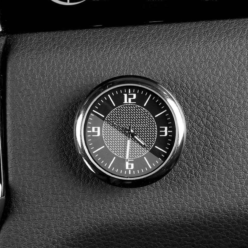 רכב קוורץ שעון שיפוץ פנים זוהר אלקטרוני שעון קישוטי שעון שעון עבור פיג 'ו 308 408 5008 4008 אביזרי רכב