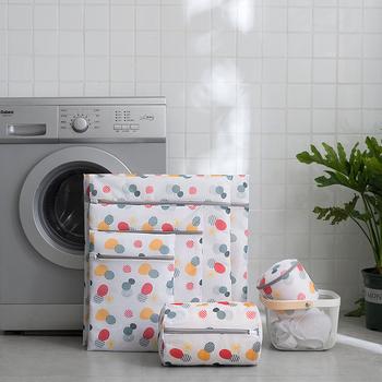 1PC nowe worki na pranie przechowywanie skarpetki biustonosz bielizna bielizna pralnia pielęgnacja pranie siatkowa torba organizator podróży worki na pranie tanie i dobre opinie CN (pochodzenie) Nowa klasyczna po nowoczesne Pa + pe laundry bag 1 * laundry bag