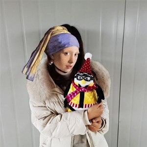 Image 3 - 55cm poważni przyjaciele Joeys Friend Hugsy pluszowy pingwin Rachel wypchana lalka zabawki dla dzieci dzieci urodziny prezent na boże narodzenie