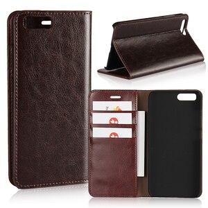 Image 1 - 360 Natural Genuine Leather Skin Flip Wallet Book Phone Case Cover On For Xiaomi Mi 5 6 Mi5 Mi6 Pro Prime 3/4 32/64 GB Xiomi