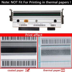 Image 3 - G79056 1M печатающая головка + G77023M пластинчатый ролик, совместимый с принтерами Zebra Z4M Z4M + 203 точек/дюйм для печати этикеток штрих кодов