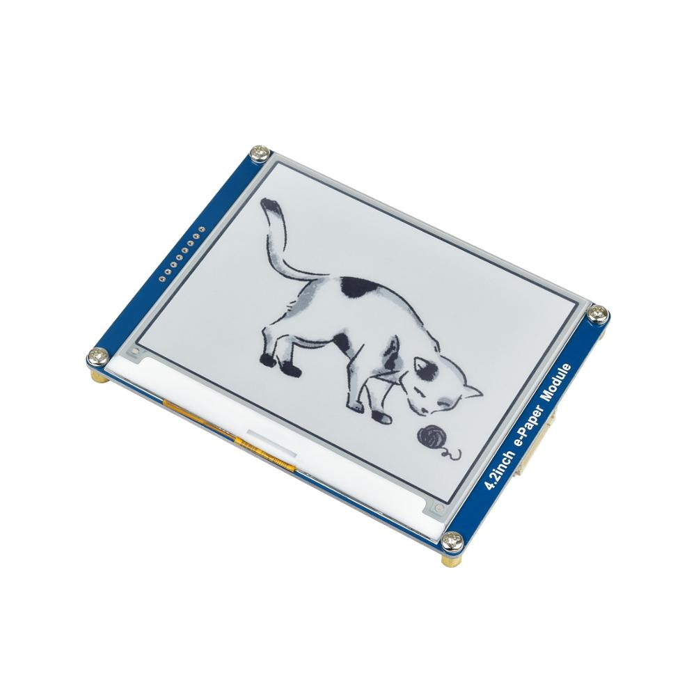 4,2 дюймовый 400X300 SPI Epaper Eink E-paper E-Ink модуль экрана дисплея для RPI Raspberry Pi Zero W WH 3B Plus 4B Arduino STM32