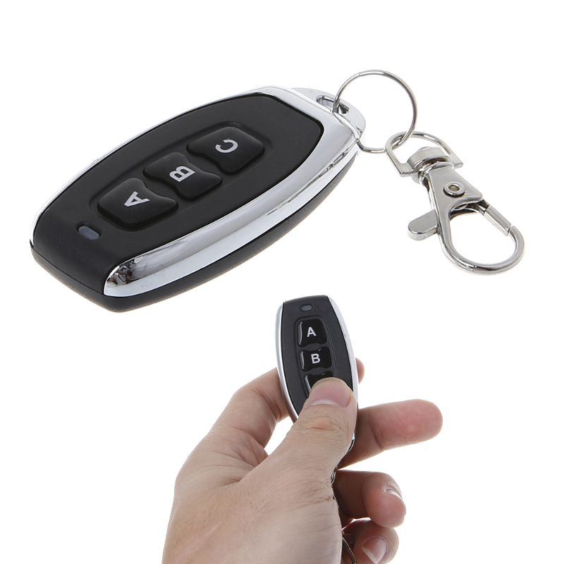 Cloning <font><b>Remote</b></font> Control Copy Controller Wireless Transmitter 3 buttons Car <font><b>Key</b></font> Fob 315MHz 433MHz Electric Gate <font><b>Garage</b></font> Door Switch image