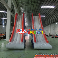 Inflatable Floating Sea Water Blob Slides Deck Inflatable Water Yacht Slide for Boat
