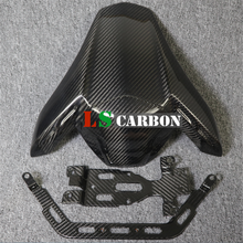 For Kawasaki Z900 Full Carbon Fiber Motorcycle Accessories Seat Cover (w. brackets) motorcycle rubber gripper soft seat cover for kawasaki kx85 kx100 01 02 03 04 05 06 07 08 09 10 11 12 13 14 15 16 2001 2016