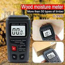 Humidity-Tester Timber-Damp-Detector Moisture-Meter EMT01 Wood Digital with Large Lcd-Display