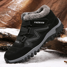 Sneakers Boots Hiking-Shoes Tracking Mountain-Trekking High-Top Outdoor Sport Winter