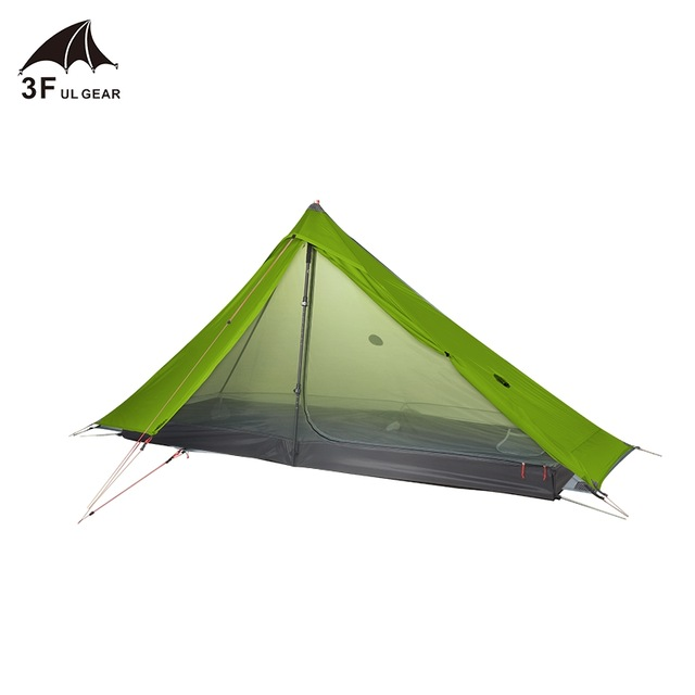 3F UL GEAR Lanshan 1 Pro Tent 1 Person Ultralight 20D tent 5