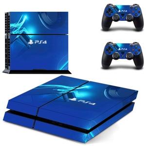 Image 4 - Özel tasarım PS4 çıkartmalar PlayStation 4 cilt PS 4 Sticker çıkartmaları kapak PlayStation 4 için PS4 konsol ve denetleyici skins