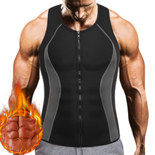 Tank-Top Sweat-Vest Workout-Shirt Muscle-Building-Undershirts Sauna Weight-Loss Compression