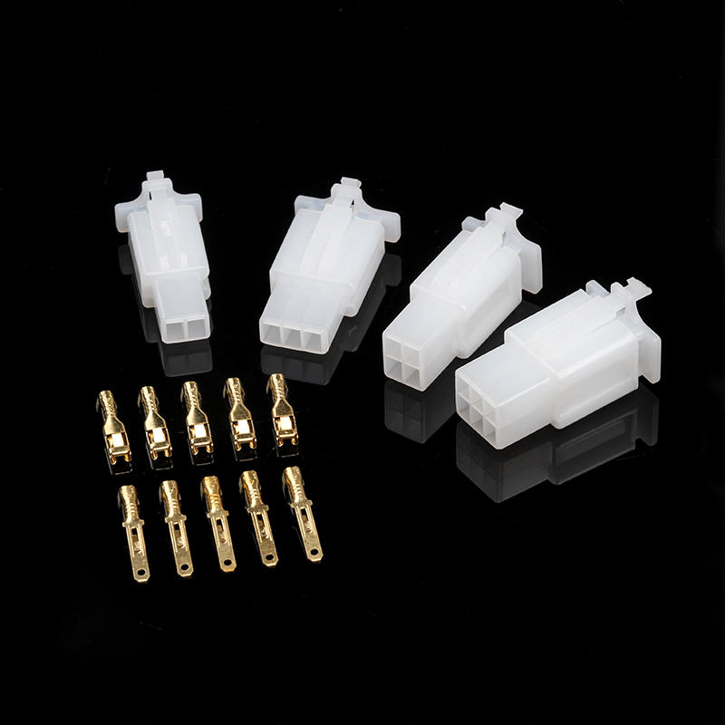 580Pc 2 3 4 6 9 Pin Automotive Electrical Wire Connector /& Bullet Terminal Set