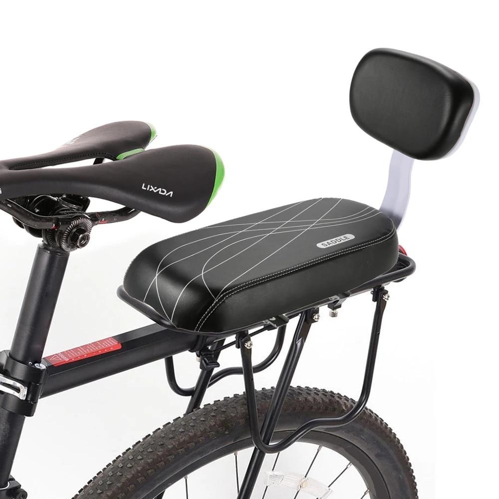 Bike Bicycle Rear Tail Seats Back Saddles Soft Comfort W// Children Backrest