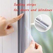 Sliding Door Waterproof Pu Foam Sealing Tape Strips self Adhesive Window Door Windows Weatherstrip Insect Wind Stopper