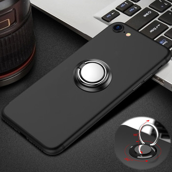 Magnetic Car Ring Phone Case for Alcatel A3 5046D One Touch Idol 3 4 5 5S 6045Y 6039Y U5 HD Shine Lite 5080 Stander Cover image