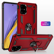 Shockproof Armor Phone Case For Huawei P30 Pro P30 Lite Magnetic Ring Stand Cover For Huawei P Smart 2019 Shell Cases Coque