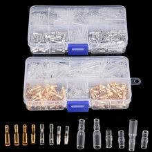 200 шт 35 мм/4 мм обжимные соединители для автомобильных пулевидных
