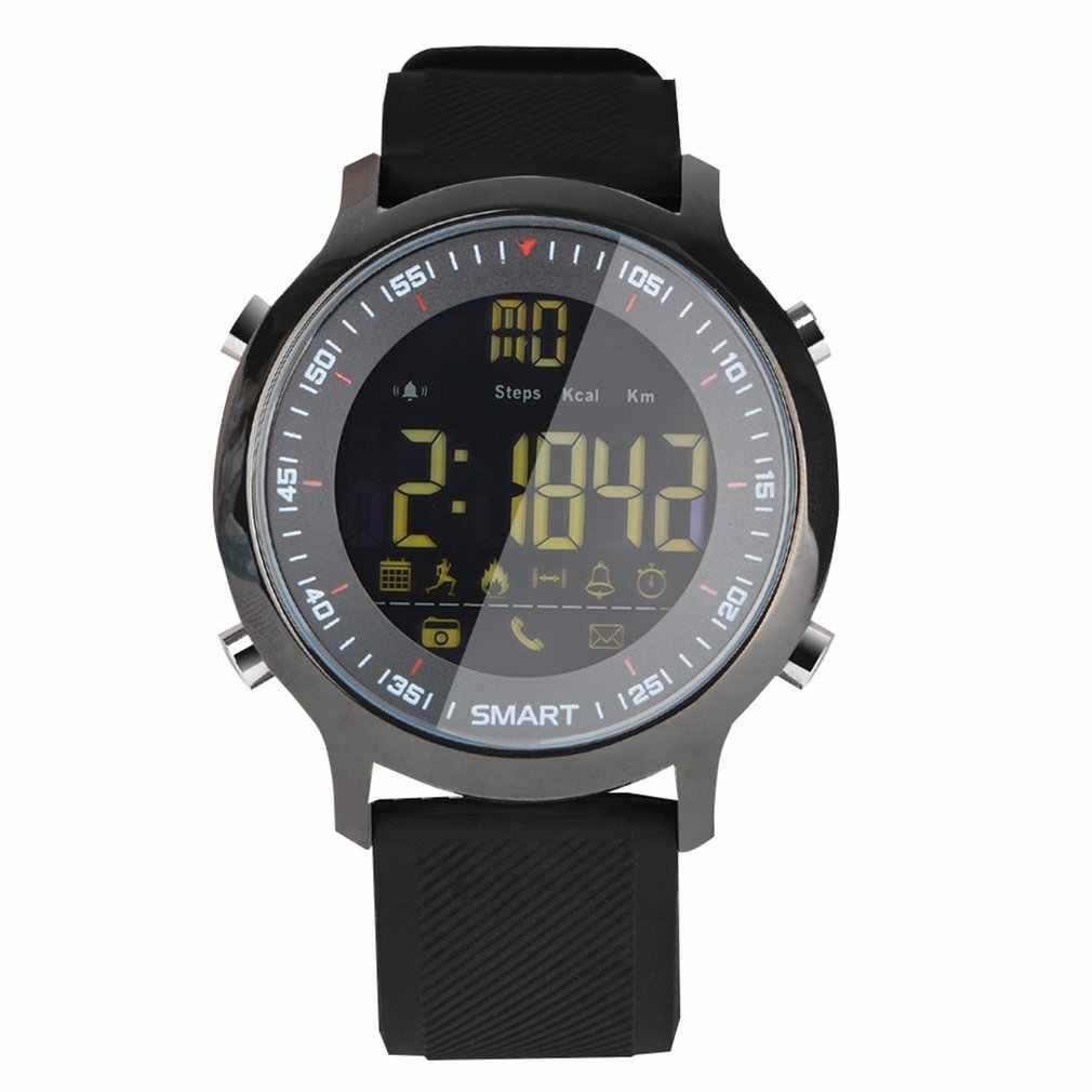 EX18 IP67 مقاوم للماء ساعة ذكية الرياضة تعقب السعرات الحرارية عداد الخطى ساعة اليد Smartwatch دعم الدعوة والرسائل القصيرة تنبيه هبوط السفينة
