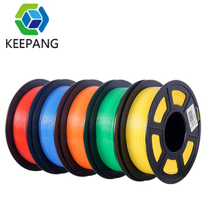 Kee Pang 3D Printer PLA Filament 1.75mm Filament Dimensional Accuracy+/-0.02mm 1KG 300M 2.2LBS 3D Printing Material for RepRap