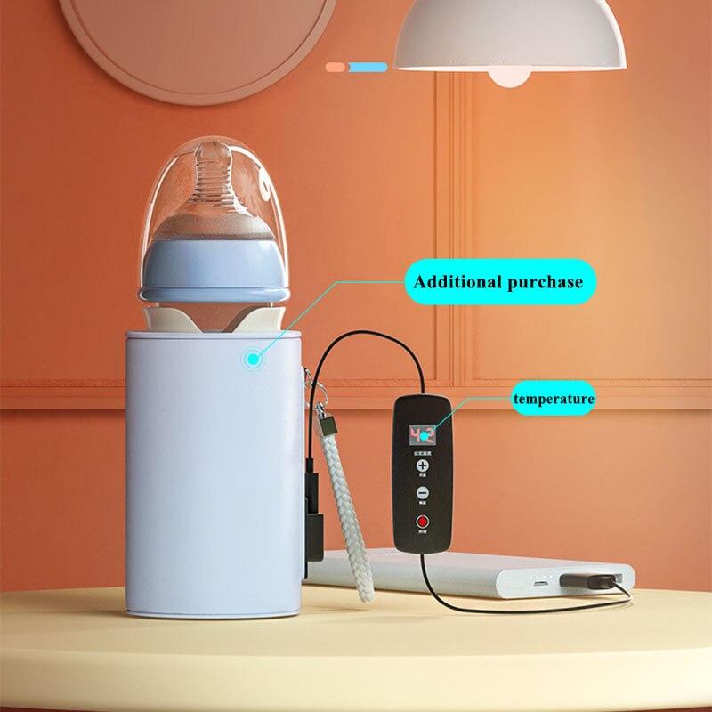 Travel-Warmer Newborn-Bottle Glass Milk Quick-Flush PPSU Water Wide-Mouth Cute Constant