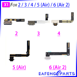 Charging flex cable For Ipad 2 3 4 5 6 air 2 Charger USB Dock Connector Port Flex Cable Ribbon Plug Repair Parts