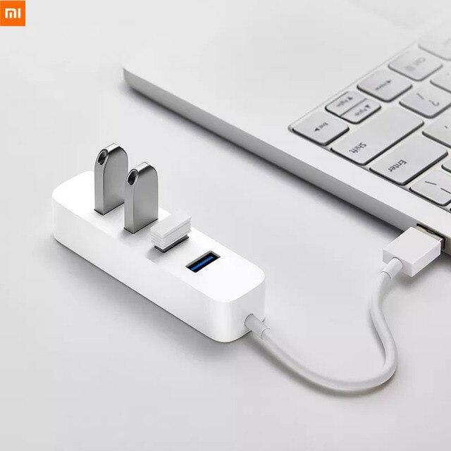 Xiaomi USB3.0 концентратор адаптер 4 универсальный порт 350 МБ/с./с USB 3,0 гигабитный адаптер концентратор док станция для планшета компьютера ноутбука