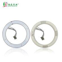 85-265VAC 375mm T9 LED Circular Tubes 205mm  G10Q LED Circle lamp 4pins 225mm LED Round Tubo 205mm LED Ceiling lights