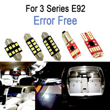 21x LED Bulb Interior reading Light Kit for BMW 3 series E92 Coupe M GTS 316i 318i 320d 320d xDrive 320i 320xd 323i (2006-2013)