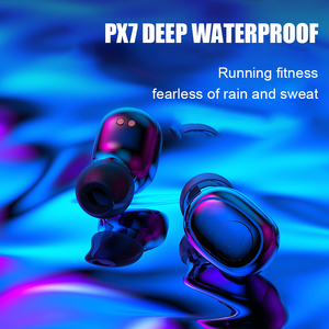 Image 3 - G6s Bluetooth 5.0 אוזניות 8D סטריאו אלחוטי אוזניות מיני עמיד למים עם 2200mAh כוח בנק אוזניות