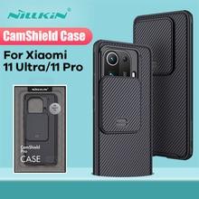 עבור Xiaomi Mi 11 Ultra מקרה עבור Mi 11 לייט מקרה עבור xiaomi mi 11 פרו NILLKIN CamShield מקרה שקופיות מצלמה הגנה חזרה כיסוי