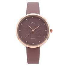 Women Watch Gray Contrast Leather Quartz Watch Women Men Watches Lovers Unisex Casual Ladies Wrist Watch Clock Relogio Feminino relogio masculino unisex fashion watch men women lovers couple watches pu leather quartz wrist watch levert dropship d1221 page 5