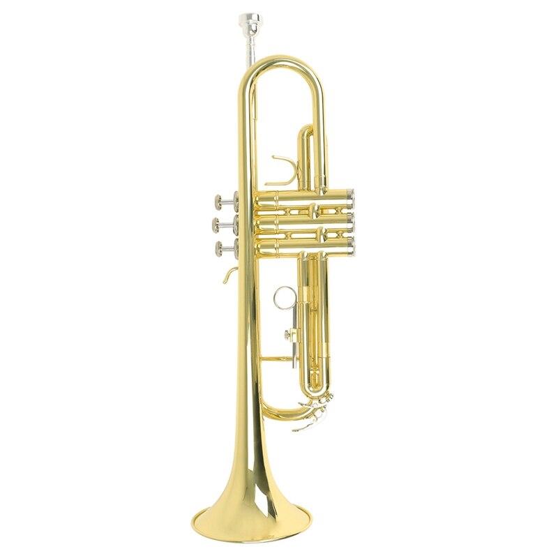 Высококачественная плоская прочная Латунная Труба Bb труба B с мундштуком
