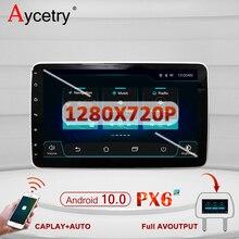 PX6 Universal Radio de coche 2 Din Android 10 Multimedia reproductor de Radio de auto dvd GPS para Volkswagen/TOYOTA/NISSAN/KIA/HYUNDAI coche ESTÉREO radio coche pantalla