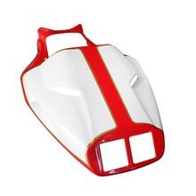 Пластик мотоцикл окрашенные красный и белый Хвост заднего обтекателя Кузов для поездок на мотоцикле Ducati 996 748 916 998 последний раздел накидное сидение крышка