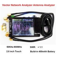 NanoVNA 50KHz 900MHz 벡터 네트워크 분석기 디지털 터치 스크린 단파 MF HF VHF UHF 안테나 분석기 스탠딩 웨이브