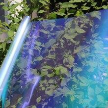 SUNICE 80.7% VLT dobrej jakości efekt kameleona folia okienna zastosowanie do domowego biura Autor szkło samoprzylepne odcień słoneczny 1.52*3m