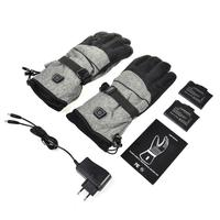 Intelligent Electric Heated Gloves Rechargeable Winter Warm Gloves For Skiing Snowboard Cycling
