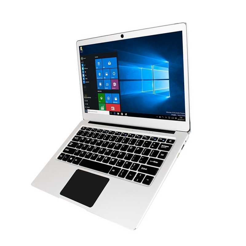 Ezbook מגשר 3 פרו Windows 10 מחשב נייד 13.3 אינץ Fhd לוח פחות, Intel Slim Ultrabook נייד, 6Gb Ram 64Gb Rom, מתכת מעטפת Lig